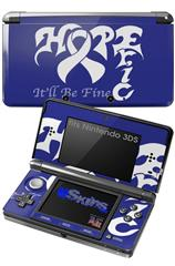 Hope Eric - Decal Style Skin fits Nintendo 3DS (3DS SOLD SEPARATELY)