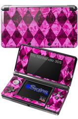 Pink Diamond - Decal Style Skin fits Nintendo 3DS (3DS SOLD SEPARATELY)