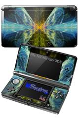 Drewski - Decal Style Skin fits Nintendo 3DS (3DS SOLD SEPARATELY)