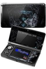 MirroredHall - Decal Style Skin fits Nintendo 3DS (3DS SOLD SEPARATELY)
