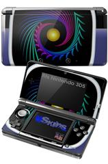 Badge - Decal Style Skin fits Nintendo 3DS (3DS SOLD SEPARATELY)
