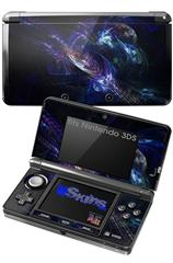 Black Hole - Decal Style Skin fits Nintendo 3DS (3DS SOLD SEPARATELY)