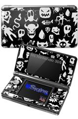 Monsters - Decal Style Skin fits Nintendo 3DS (3DS SOLD SEPARATELY)