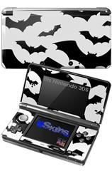 Deathrock Bats - Decal Style Skin fits Nintendo 3DS (3DS SOLD SEPARATELY)