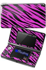 Pink Tiger - Decal Style Skin fits Nintendo 3DS (3DS SOLD SEPARATELY)