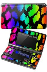 Rainbow Leopard - Decal Style Skin fits Nintendo 3DS (3DS SOLD SEPARATELY)