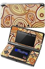 Paisley Vect 01 - Decal Style Skin fits Nintendo 3DS (3DS SOLD SEPARATELY)