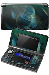 Aquatic - Decal Style Skin fits Nintendo 3DS (3DS SOLD SEPARATELY)