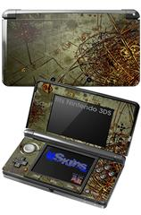Cartographic - Decal Style Skin fits Nintendo 3DS (3DS SOLD SEPARATELY)