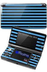 Stripes Blue - Decal Style Skin fits Nintendo 3DS (3DS SOLD SEPARATELY)