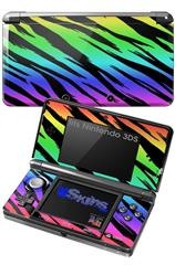 Tiger Rainbow - Decal Style Skin fits Nintendo 3DS (3DS SOLD SEPARATELY)