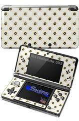 Kearas Daisies Diffuse Glow Yellow - Decal Style Skin fits Nintendo 3DS (3DS SOLD SEPARATELY)