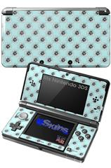 Kearas Daisies Seafoam - Decal Style Skin fits Nintendo 3DS (3DS SOLD SEPARATELY)