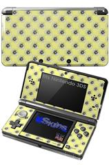 Kearas Daisies Yellow - Decal Style Skin fits Nintendo 3DS (3DS SOLD SEPARATELY)