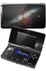 Hubble Images - Starburst Galaxy - Decal Style Skin fits Nintendo 3DS (3DS SOLD SEPARATELY)