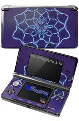 Tie Dye Purple Stars - Decal Style Skin fits Nintendo 3DS (3DS SOLD SEPARATELY)