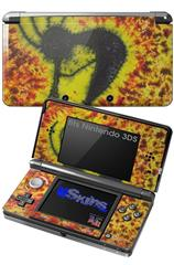 Tie Dye Kokopelli - Decal Style Skin fits Nintendo 3DS (3DS SOLD SEPARATELY)