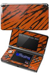 Tie Dye Bengal Belly Stripes - Decal Style Skin fits Nintendo 3DS (3DS SOLD SEPARATELY)