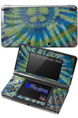 Tie Dye Peace Sign Swirl - Decal Style Skin fits Nintendo 3DS (3DS SOLD SEPARATELY)