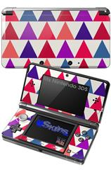 Triangles Berries - Decal Style Skin fits Nintendo 3DS (3DS SOLD SEPARATELY)