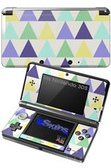 Triangles Cool - Decal Style Skin fits Nintendo 3DS (3DS SOLD SEPARATELY)