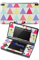 Triangles Light - Decal Style Skin fits Nintendo 3DS (3DS SOLD SEPARATELY)