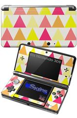 Triangles Warm - Decal Style Skin fits Nintendo 3DS (3DS SOLD SEPARATELY)