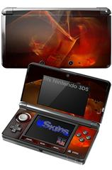 Flaming Veil - Decal Style Skin fits Nintendo 3DS (3DS SOLD SEPARATELY)