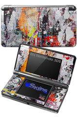Abstract Graffiti - Decal Style Skin fits Nintendo 3DS (3DS SOLD SEPARATELY)