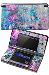 Graffiti Splatter - Decal Style Skin fits Nintendo 3DS (3DS SOLD SEPARATELY)