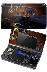 Alien Tech - Decal Style Skin fits Nintendo 3DS (3DS SOLD SEPARATELY)