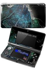 Aquatic 2 - Decal Style Skin fits Nintendo 3DS (3DS SOLD SEPARATELY)