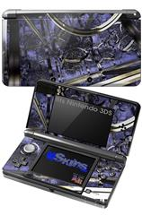 Gyro Lattice - Decal Style Skin fits Nintendo 3DS (3DS SOLD SEPARATELY)