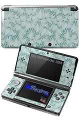 Flowers Pattern 09 - Decal Style Skin fits Nintendo 3DS (3DS SOLD SEPARATELY)