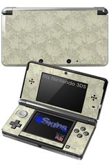 Flowers Pattern 11 - Decal Style Skin fits Nintendo 3DS (3DS SOLD SEPARATELY)