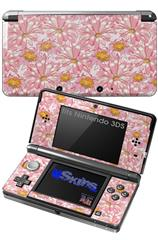Flowers Pattern 12 - Decal Style Skin fits Nintendo 3DS (3DS SOLD SEPARATELY)
