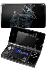 Frost - Decal Style Skin fits Nintendo 3DS (3DS SOLD SEPARATELY)