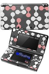 Locknodes 04 Pink - Decal Style Skin fits Nintendo 3DS (3DS SOLD SEPARATELY)