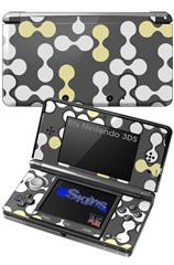 Locknodes 04 Yellow Sunshine - Decal Style Skin fits Nintendo 3DS (3DS SOLD SEPARATELY)