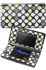 Locknodes 05 Yellow Sunshine - Decal Style Skin fits Nintendo 3DS (3DS SOLD SEPARATELY)