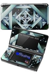 Hall Of Mirrors - Decal Style Skin fits Nintendo 3DS (3DS SOLD SEPARATELY)