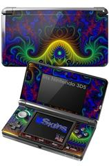 Indhra-1 - Decal Style Skin fits Nintendo 3DS (3DS SOLD SEPARATELY)