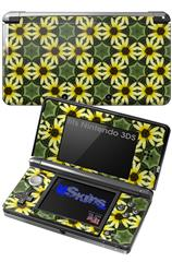 Daisies Yellow - Decal Style Skin fits Nintendo 3DS (3DS SOLD SEPARATELY)