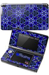 Daisy Blue - Decal Style Skin fits Nintendo 3DS (3DS SOLD SEPARATELY)