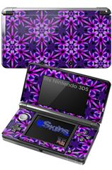 Daisy Pink - Decal Style Skin fits Nintendo 3DS (3DS SOLD SEPARATELY)