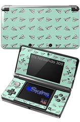 Paper Planes Mint - Decal Style Skin fits Nintendo 3DS (3DS SOLD SEPARATELY)