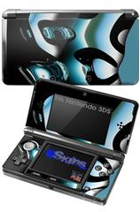 Metal - Decal Style Skin fits Nintendo 3DS (3DS SOLD SEPARATELY)
