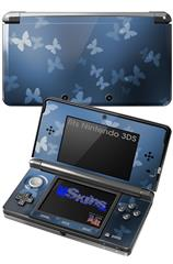 Bokeh Butterflies Blue - Decal Style Skin fits Nintendo 3DS (3DS SOLD SEPARATELY)