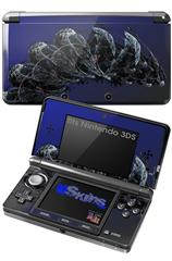 Nematode - Decal Style Skin fits Nintendo 3DS (3DS SOLD SEPARATELY)