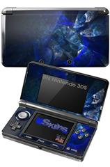 Opal Shards - Decal Style Skin fits Nintendo 3DS (3DS SOLD SEPARATELY)